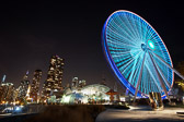 Centennial Wheel at Navy Pier in Chicago, Illinois
