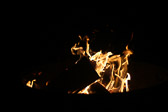 Campfires. I think of these as modified Rorschach inkblot tests. What do you see?