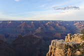 View at Grand Canyon National Park in Arizona.